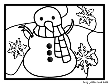 Winter Coloring Pages