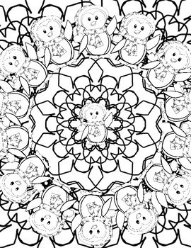 Coloring Pages: Winter