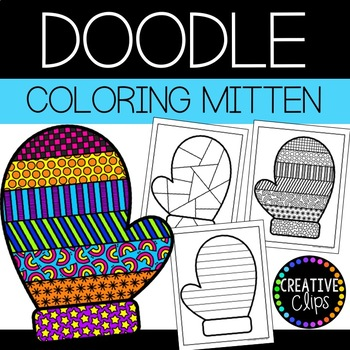 mittens coloring page worksheets teaching resources tpt mittens coloring page worksheets