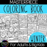 Winter Coloring Pages: Masterpieces {Made by Creative Clips}