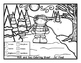 Winter Coloring Sheets for S and Z