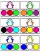 Winter Colour Clip Cards