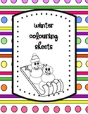 Winter Colouring Sheets