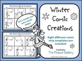 Winter Comic Creations (Comic Strip Template Set)