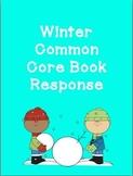 Winter Common Core Book Response