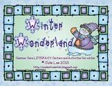 Winter Common Core Literacy Centers