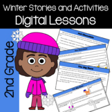 Winter Common Core Literacy - Original Stories and Activities (2nd grade)