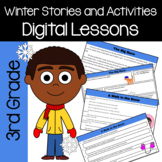 Winter Common Core Literacy - Original Stories and Activities (3rd grade)