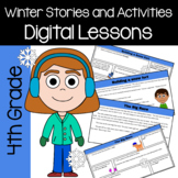 Winter Common Core Literacy - Original Stories and Activities (4th grade)