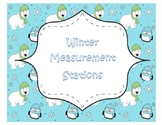 Winter Common Core Measurement Math Stations