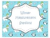 Winter Common Core Measurement Math Stations