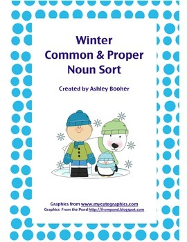 Winter Common and Proper Noun Sort