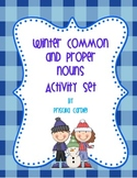 Winter Common and Proper Nouns Activity Pack