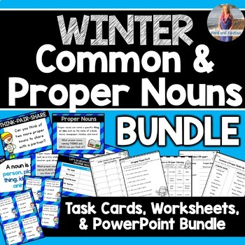 Winter Common and Proper Nouns BUNDLE