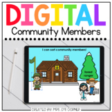 Winter Community Helpers Digital Activity | Distance Learning