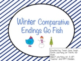 Winter Comparative Endings Go Fish
