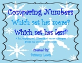 Winter Comparing Numbers/Greater and Less than