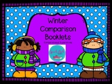 Winter Comparisons Booklets for Speech Therapy