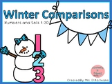 Winter Comparisons! Comparing Numbers and Sets to 20