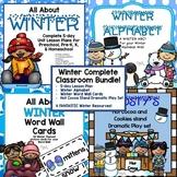 Winter Complete Classroom Bundle for Preschool, PreK, K &