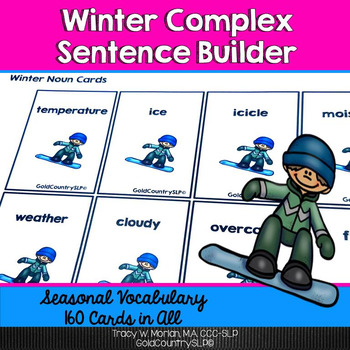 Winter Complex Sentence Builder