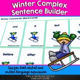 Winter Complex Sentence Builder