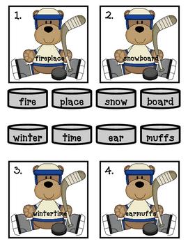 Winter Compound Word Match