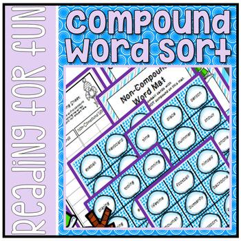 Winter Compound Word Sort
