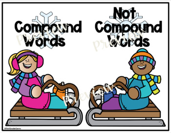 Winter Compound Word Sort