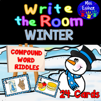 Winter Compound Word Write the Room