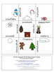 Winter Literacy Center Game | Compound Words | Winter Vocabulary Word Game