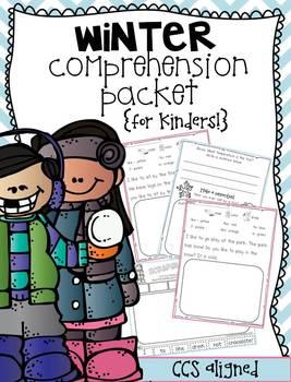 Winter Comprehension {for Kinders!}
