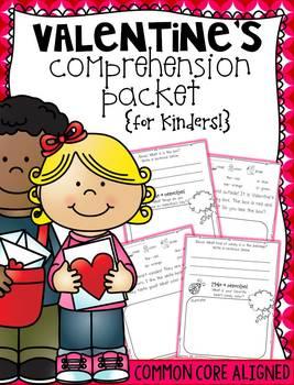 Valentine's Comprehension {for Kinders!}