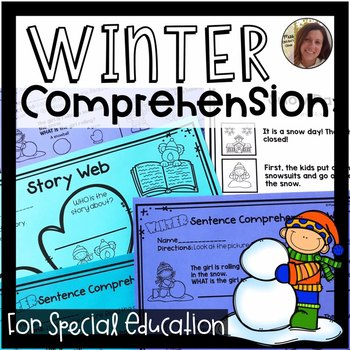 Winter Comprehension for Special Ed | Special Education and Autism Resource