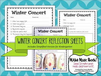 Winter Concert Reflection Guide