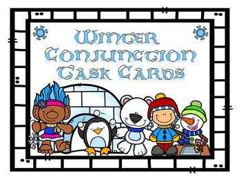 Winter Conjunction Task Cards