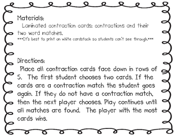 Winter Contraction Concentration
