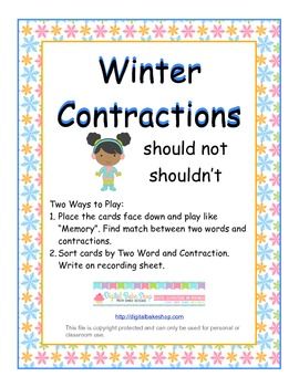 Winter Contractions
