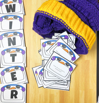 WH Questions and Conversation Prompts: Winter, Fluency, Carryover