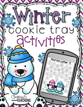 Winter Cookie Tray Activities