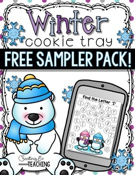 Winter Cookie Tray Free Sampler Pack!