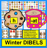 Winter Activities: DIBELS Onset Rime:  Cookies and Cocoa Set 1