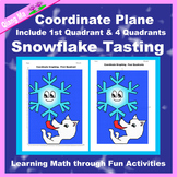 Winter Coordinate Graphing Picture: Snowflake Tasting