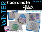 Winter Coordinate Grids - One Quadrant