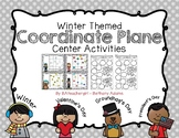 Winter Coordinate Plane Activities *~ 4 Different Winter Themes ~*