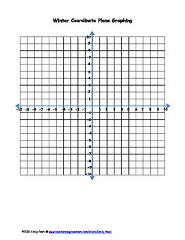 Winter Coordinate Plane Graphing