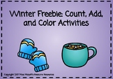 Winter Count, Add, and Color Freebie