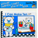 Winter Count And Draw Adapted Book:  I Can Make Ten Fish