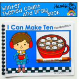 Winter Count And Draw Adapted Book: I Can Make Ten Marshmallows
