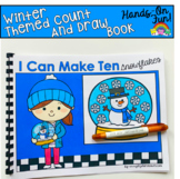 Winter Count And Draw Adapted Book:  I Can Make Ten Snowflakes